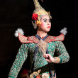 Khon-Thai culture drama dance show — Stock Photo