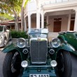 Hua Hin Vintage Car Parade 2011 — Stock Photo