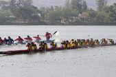 华显长的小船比赛 2011 — 图库照片