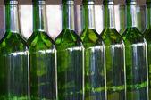 Green bottles — Stock Photo