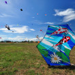 Thailand International Kite Festival 2012 — Stock Photo