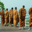 Thai monks — Stock Photo