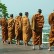 Thai monks - Stock Photo