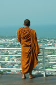 Thai monk — Stock Photo