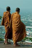 Thai monks — Stock Photo