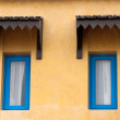 Moroccan style windows — Stock Photo