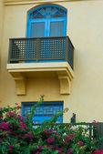 Moroccan style windows — Stock Photo
