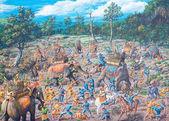 Ancient battle in asia — Foto de Stock