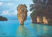 Pang-nga bay national park in Thailand — Foto de Stock