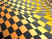 Grid altın — Stok Vektör
