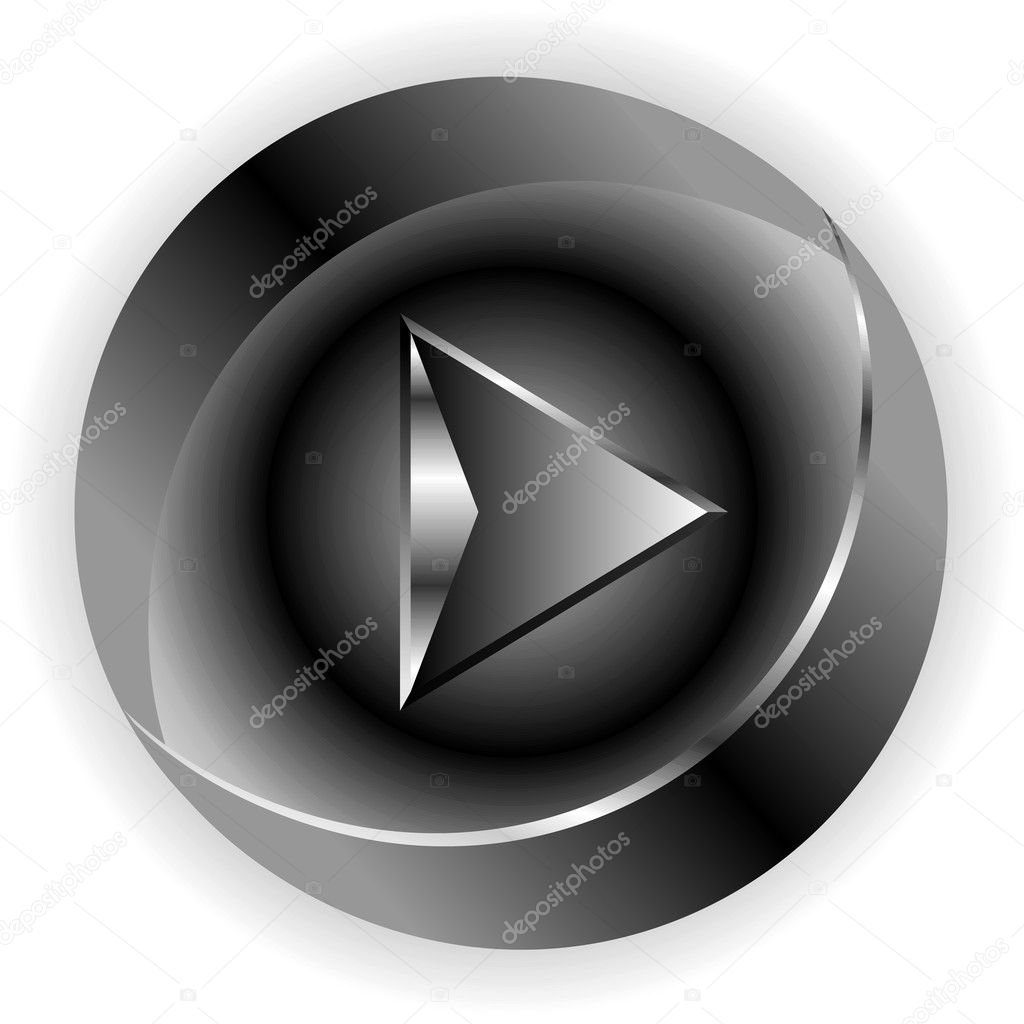 Black button download — Stock Photo #10111862