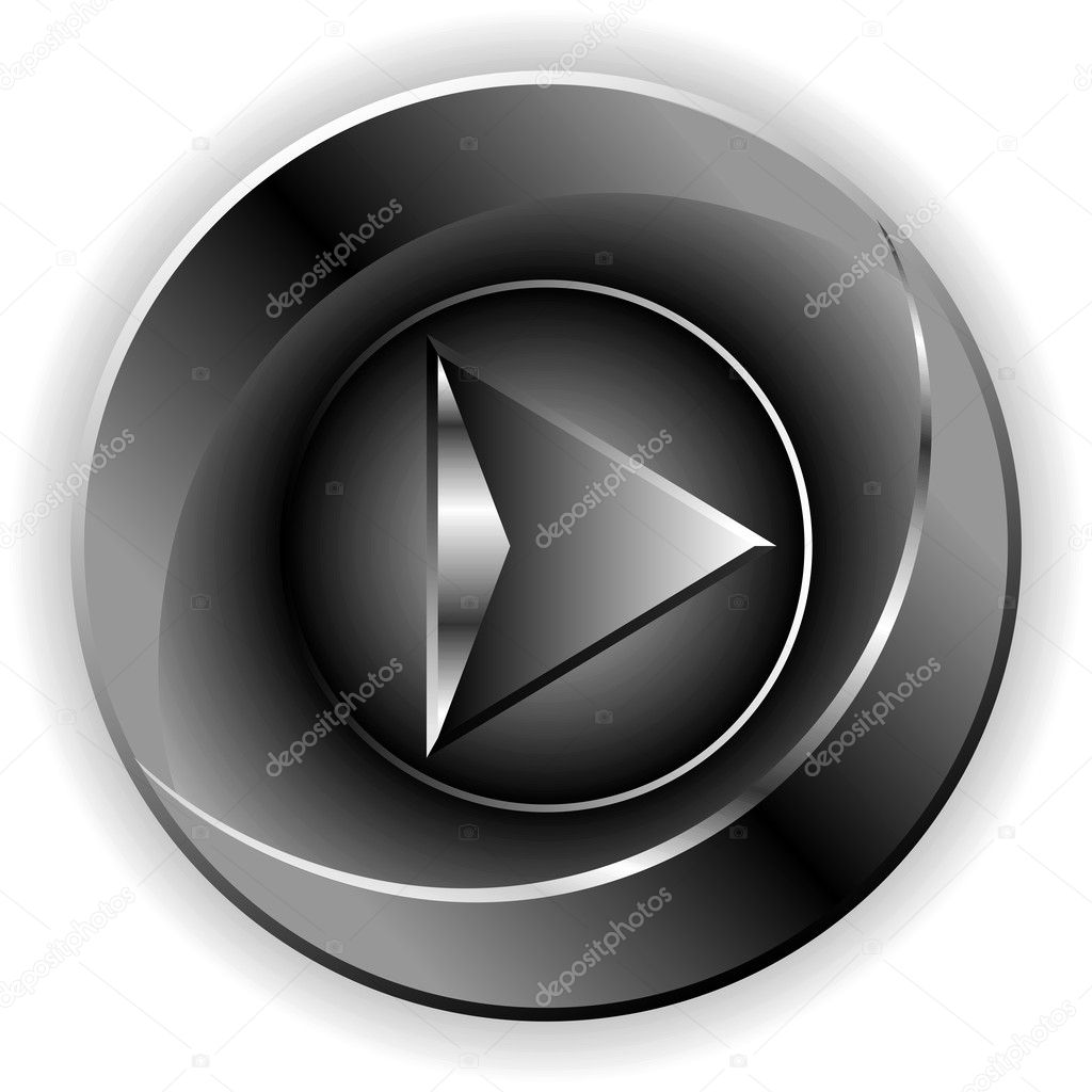 Black button download  Stock Photo #10111873