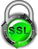 Ssl - sicherheit — Stockvektor