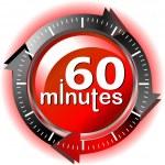 60 minutes — Stock Photo #9273433