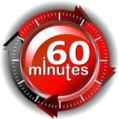 60 minuti — Foto Stock