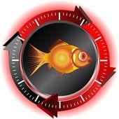 Fish logo — Stock Vector