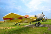 Alte flugzeuge — Stockfoto
