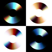 Abstract cd — Foto Stock