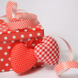 Red Gift box  — Stock Photo