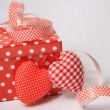 Stock Photo: Red Gift box