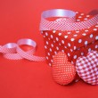 Red Gift box — Stock Photo #8561220