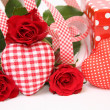 Valentine gift box — Stock Photo #9580533