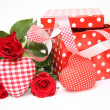 Valentine gift box — Stock Photo #9580536