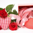 Valentine gift box — Stock Photo #9580539