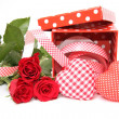 Valentine gift box — Stock Photo #9580551