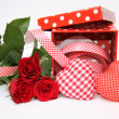 Valentine gift box — Stock Photo #9580553