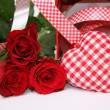 Valentine gift box — Stock Photo #9580555