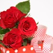 Valentine gift box — Stock Photo