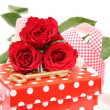 Valentine gift box — Stock Photo #9580564