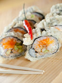 Hot sushi — Stock Photo