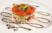 Salada de tomate seco — Foto Stock