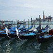 Venetian gondolas — Stock Photo #8272364