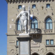 Stock Photo: Monument to Saint Marino