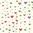 Background with hearts - ストック写真