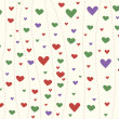 Background with hearts - Stockfoto