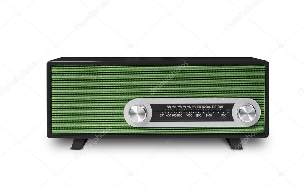 Old radio — Stock Photo #8896941