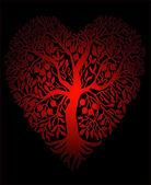 Güzel kalp arkaplan — Stok Vektör