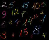 Numeri — Foto Stock