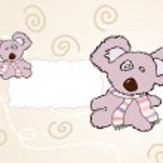 Toy teddy bear. vector — Stock Vector #9797835