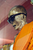 Mummy of monk — Stock Photo