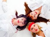 Trois jolies filles — Photo