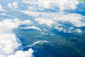 View at clouds — Stockfoto