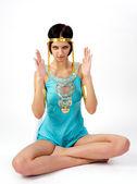 Ancient Egyptian woman - Cleopatra — Stock Photo