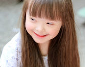 Portrait of beautiful young girl — Stock Photo