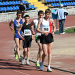 Boys on the 10000 meters race — Stock Photo #10544667