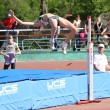 High jump competition - Foto Stock